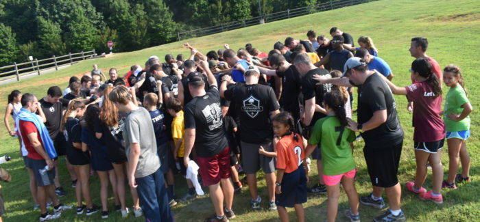 F3 Dads Comanche: Was it 150% humidity or 150+ PaX and Kids?  Perhaps both!